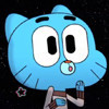 Gumball in space crazycow4556 photo