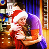 sheldon & penny hug alittlelamb photo
