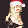 Christmas Icon. Credit: fanpop.com/clubs/lady-gaga/images/32933798/title/lady-gaga-fanart geocen photo