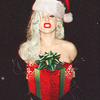 christmas icon.  Credit: fanpop.com/clubs/lady-gaga/images/32933796/title/lady-gaga-fanart geocen photo