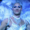 "Justin as a showgirl in ""Fortune"" huntress79 photo"