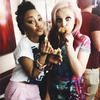 Perrie & Leigh ♥ {Credit: tumblr} harry_ginny33 photo