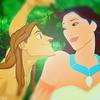 Tarzan/Pocahontas chesire photo