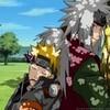 Jiraiya and Naruto mstre photo