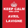 Keep Calm and Love Avril Lavigne Random-Partier photo