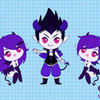 IncubusxSuccubus purplevampire photo