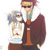 Hipster Gajeel and Levy S_y_r_i_n_x photo