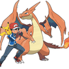 Ash, Pikachu, & Mega Charizard Zekrom676 photo