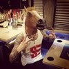 Joe Rickard has a horse head #stayeasy (source: Stayeasy Apparel) remy_46 photo