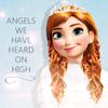 Anna in White Winter Coat - by LightningRed LightningRed photo