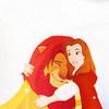 Simba and Belle ~ by LightningRed LightningRed photo