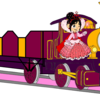 Lady with her Open-Topped Carriage & Vanellope beside her Fredericko007 photo