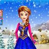 Anna looking like Elsa. And has fire powers. Rainbowblitz photo