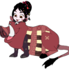 Vanellope dressed as Pumbaa 3 Fredericko007 photo