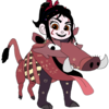 Vanellope dressed as Pumbaa 5 Fredericko007 photo