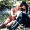 Xena and Gabrielle (Xena, The Warrior Princess). Source: www. Photobucket.com. Sharelle1212 photo