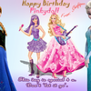 A gift from my bestie Shafi to me on my birthday pinkydoll photo