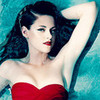 I love Kstew,I love red lipstick,i love red dress & thus,I love this pic as my icon. sini12 photo