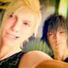 Noct and Prompto - Icon by me Zeppie photo