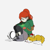 Tulip and Atticus from Infinity Train alinah_09 photo