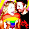 Stephen Amell and Emily Bett Rickards smile19 photo