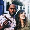 Lamorne Morris and Zooey Deschanel// Icon by me drewjoana photo
