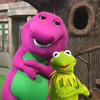 Barney and Kermit- Suave Style bigpurplemuppet photo