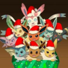 Christmas Eeveelutions <3 CokeTheUmbreon photo