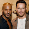 Ricky Whittle and Sam Heughan nermai photo