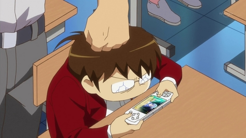 anime character playing video games post a picture of a video gamer anime. - animé réponses - fanpop