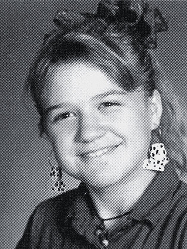 A Young Kelly Clarkson
