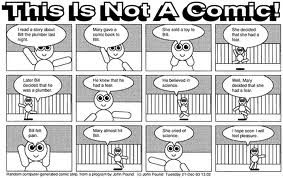 this is not a comic