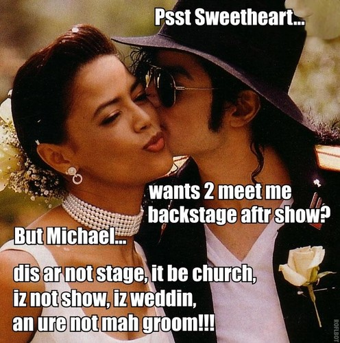 ♥ MICHAEL AND THE BRIDE ♥