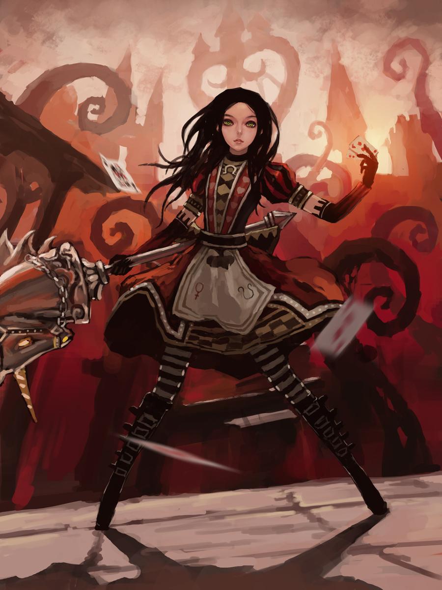 Alice Madness Returns Walkthrough Chapter 2 alice 02 - alice: madness returns fanclub fan art (32191035