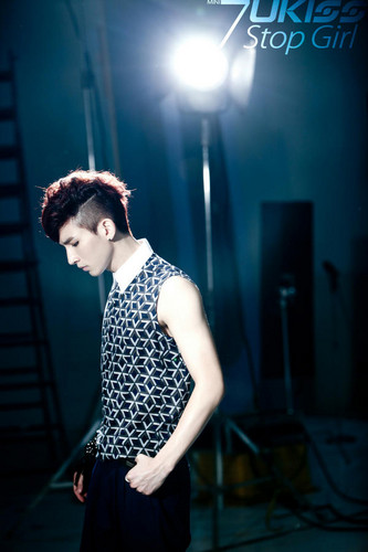 "Kiseop image teaser for ""Stop Girl"""