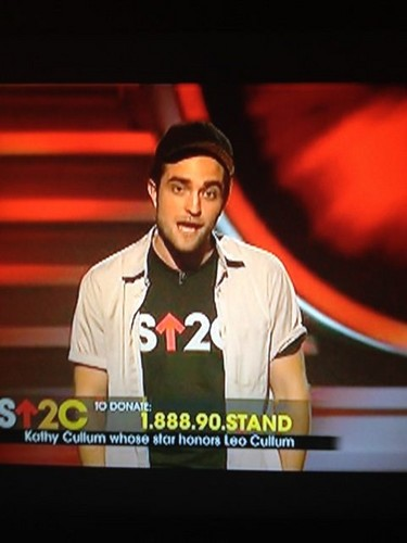 Rob on Stand Up 2 Cancer Telethon