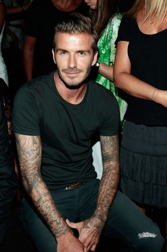 Sept. 9th - NY - David at Y-3 10th Anniversary Collection Show