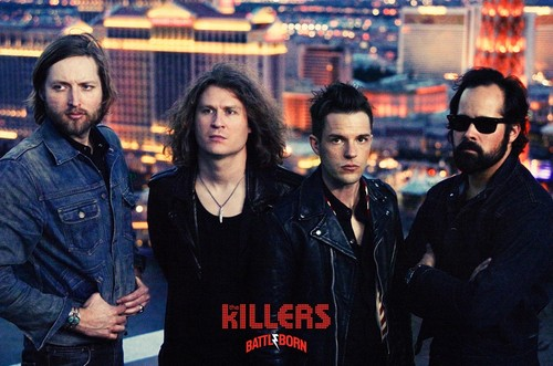 The Killers ইউরোপ 2012 Tour Poster