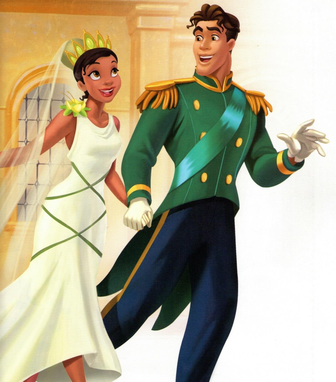 Tiana and Naveen - The Princess and the Frog Photo ...