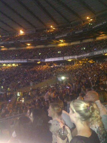 Twickenham Stadium ready for Gaga!