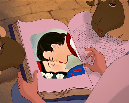 Belle Reads Snow White