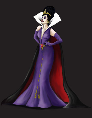 Evil Queen Designer Doll پرستار Art