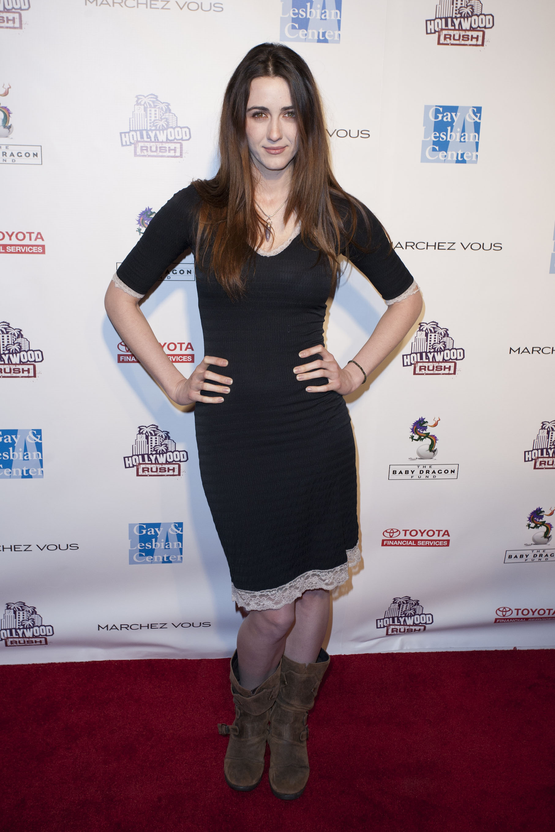 Hollywood Rush Benefit in L.A. 19.02.2012