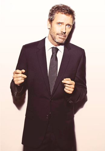 Hugh Laurie - GQ France photoshoot- January 2011