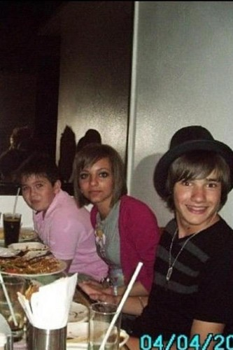 Liam Payne and Jade Thirlwall 2008