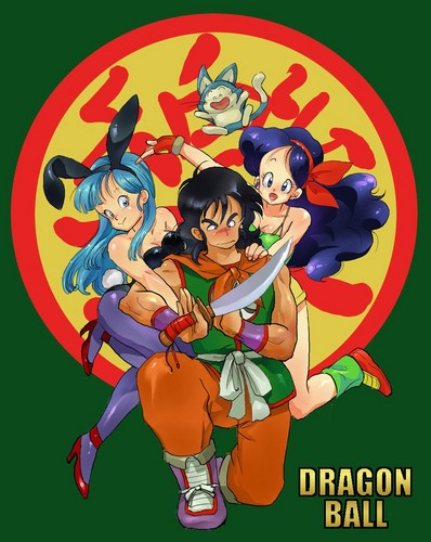 Love Triangle (Launch X Yamcha X Bulma)