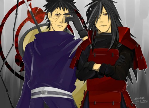 Obito and Madara