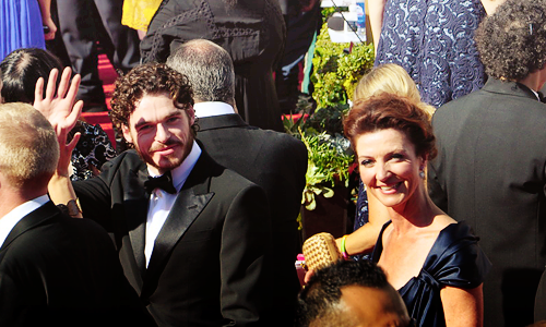 Richard Madden & Michelle Fairley @ 2012 Emmy Awards