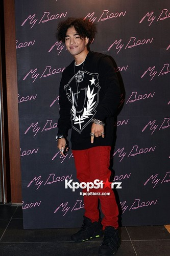 "Taeyang at ""My Boon x GD"" Collaboration Launch Party (120920)"