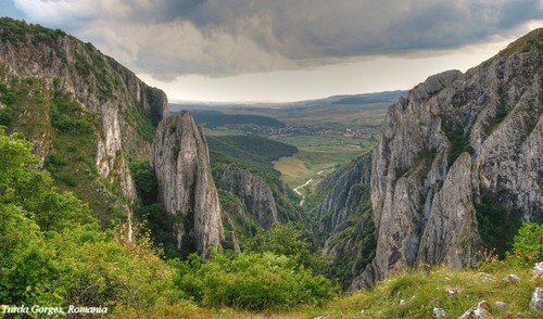 Turda Gorge Romania Carpathian mountains beautiful landscape Transylvania Europe